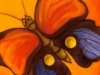 Gotta love the whimsy ... and the colour! :: \'Butterfly and Ladybug\' by Will Rafuse