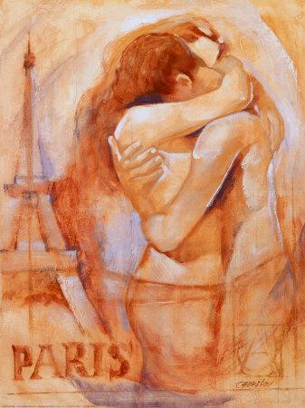 Paris...how could I resist? It\'s still a date, then? Beneath the Eiffel Tower. . . :: \'Embrace in Paris\'