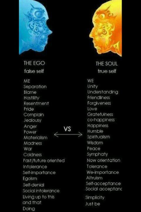 Ego VS Soul :: True Self VS Self