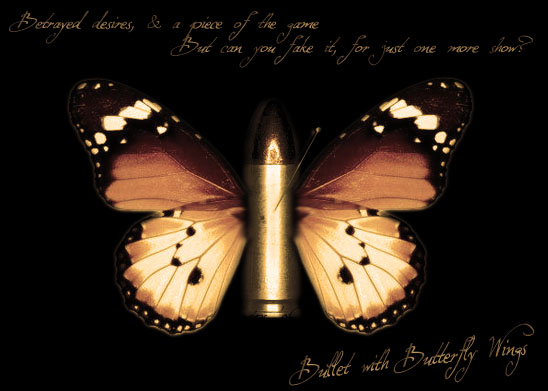 Bullet With Butterfly Wings by hybrida @ DeviantArt